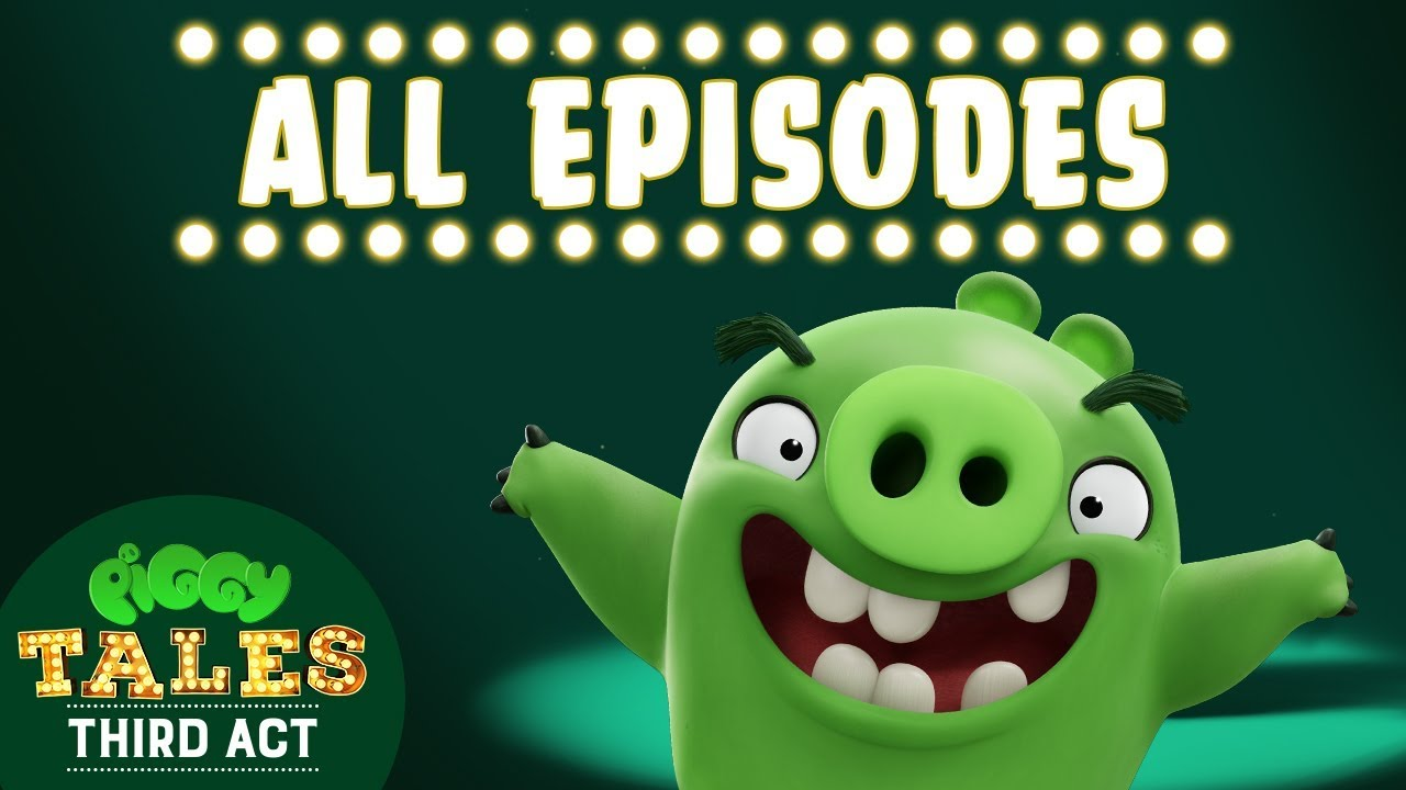 Download Angry Birds   Piggy Tales   Third Act - All Episodes Mashup - Compilation S3