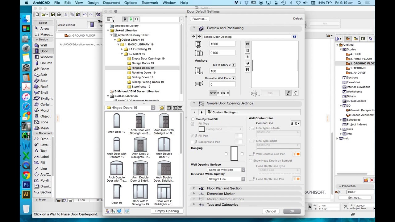 ARCHICAD TEMPLATE FILE - 01