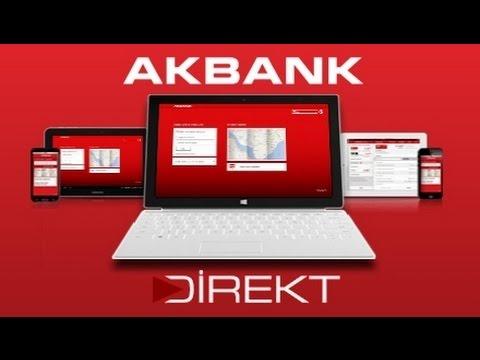 AKBANK Direkt Mobil Bankacılık Uygulamasını İnceliyoruz