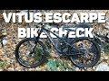 My first trail bike Vitus escarpe 29 bike check