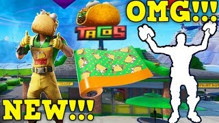 "Fortnite: Guaco ""The Taco"" - Taco Skin in Fortnite!!! (BEST SKIN EVER!!!)"
