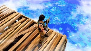 WORLD'S HIGHEST SKY FORT in Fortnite: Battle Royale!