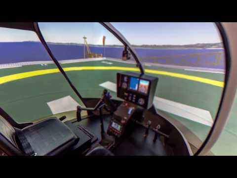 Frasca R44 FTD - Helicopter Flight Training Device