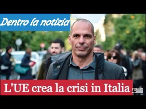"""25.11.18 TG FLASH: Varoufakis """"l'UE e la BCE stanno creando una crisi finanziaria in Italia"""""""