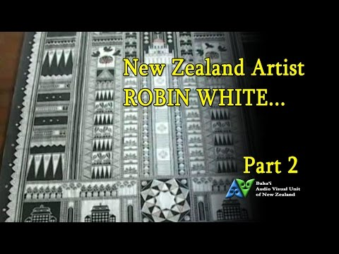 "New Zealand artist Robin White-Part 2 ""The Collaboration: A New Garden"""