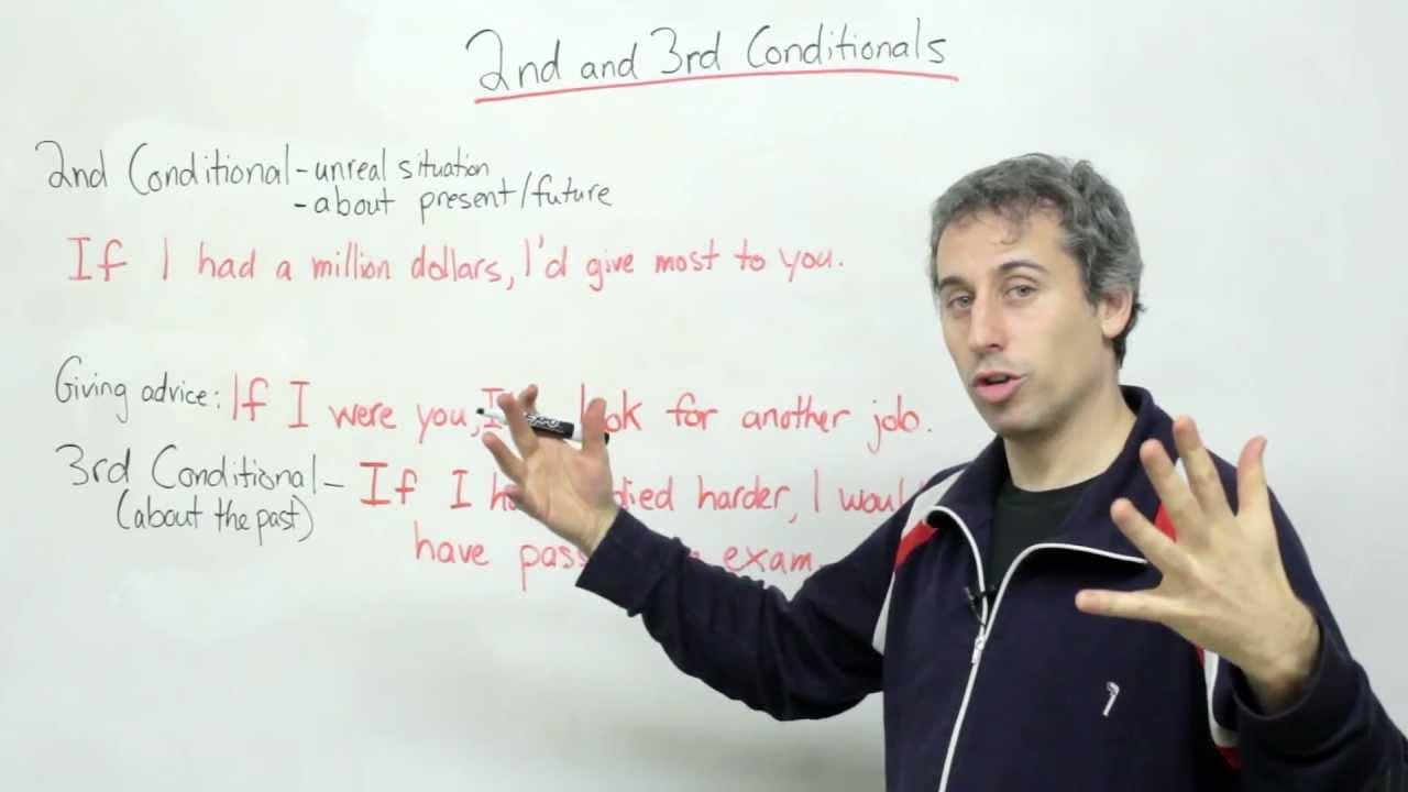 Conditionals -- second & third conditionals (English Grammar)