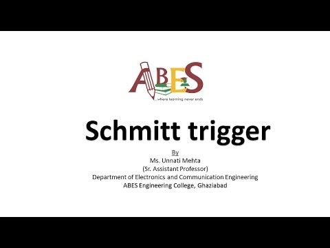 Schmitt trigger by Ms. Unnati Mehta