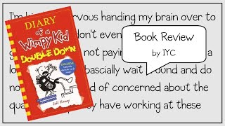 Book review on Dairy of a Wimpy Kid - Double Down