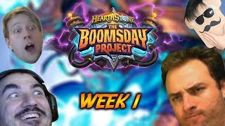 BOOMSDAY PROJECT BEST MOMENTS (WEEK 1) ft. Kripp, Toast, Day9, Thijs, Savjz and more! - Hearthstone