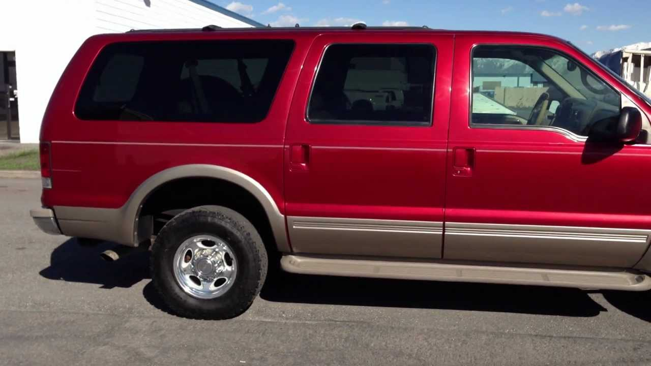 Clean 2000 Ford Excursion Limited 4x4 Tv Dvd 7 3