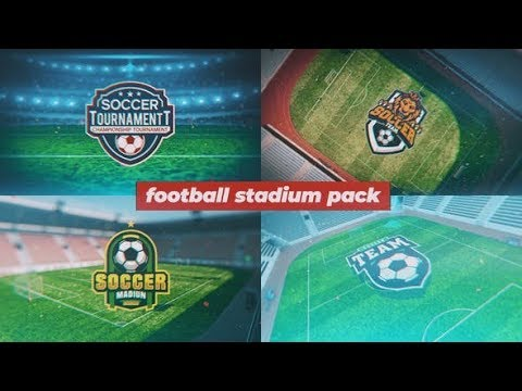 Football Stadium Package | After Effects Template