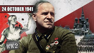 Martial Law in Moscow, but is the Cavalry coming? - WW2 - 113 - October 24, 1941