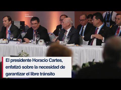 Mendoza recibió a presidentes del Mercado Común del Sur