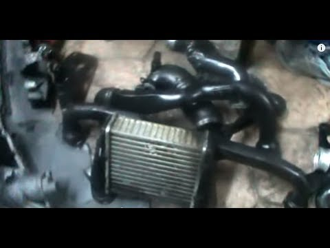 Cómo limpiar el intercooler. VOLKSWAGEN PASSAT 1.9 TDI 130 cv 4 MOTION. Video 4