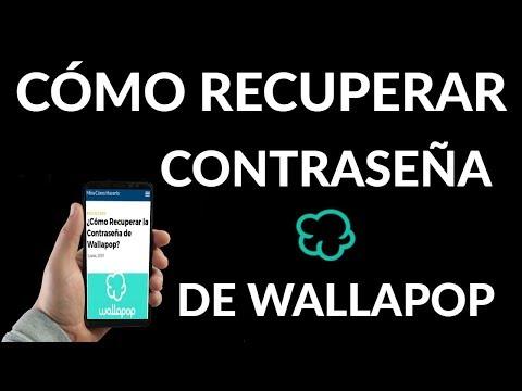 ¿Cómo Recuperar la Contraseña de Wallapop?