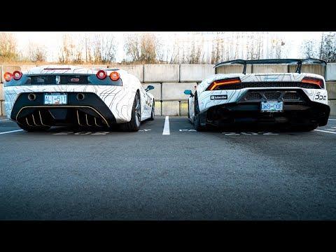 What Sounds Better? Ferrari VS Lamborghini  *EXHAUST REVIEW*