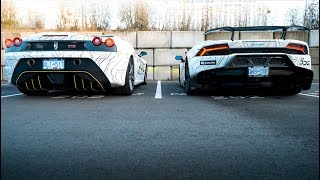 What Sounds Better? Ferrari VS Lamborghini  *EXHAUST REVIEW*