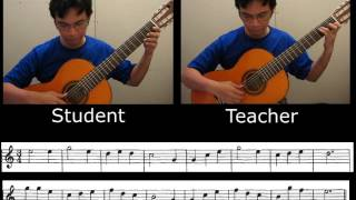Exercise no 30 - F.Noad(Solo Guitar Playing)