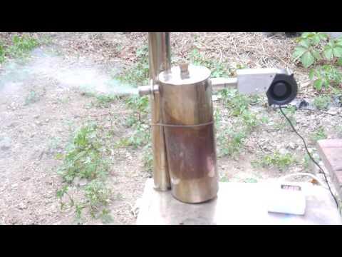 Cold Smoke Generator, Lighting Wood Pellet Part II