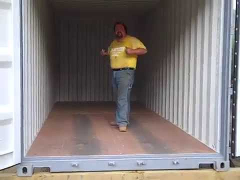 It's Conex Box Day    Steel Storage Shipping Container delivery