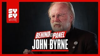 John Byrne On Reinventing Superman & Lois Lane, And Superman Shaving (Behind The Panel) | SYFY WIRE