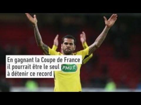 PSG - Daniel Alves, une Coupe de France pour un record ?
