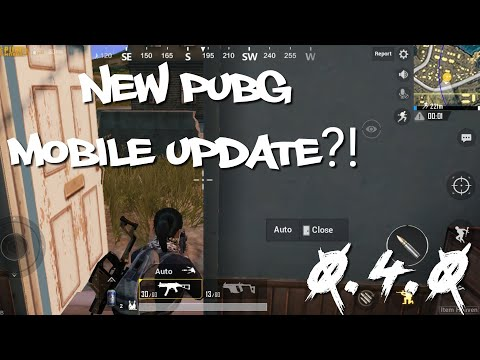 PUBG Mobile | 4.0 UPDATE?! | New in game currency, arcade mode, training ground, and more!