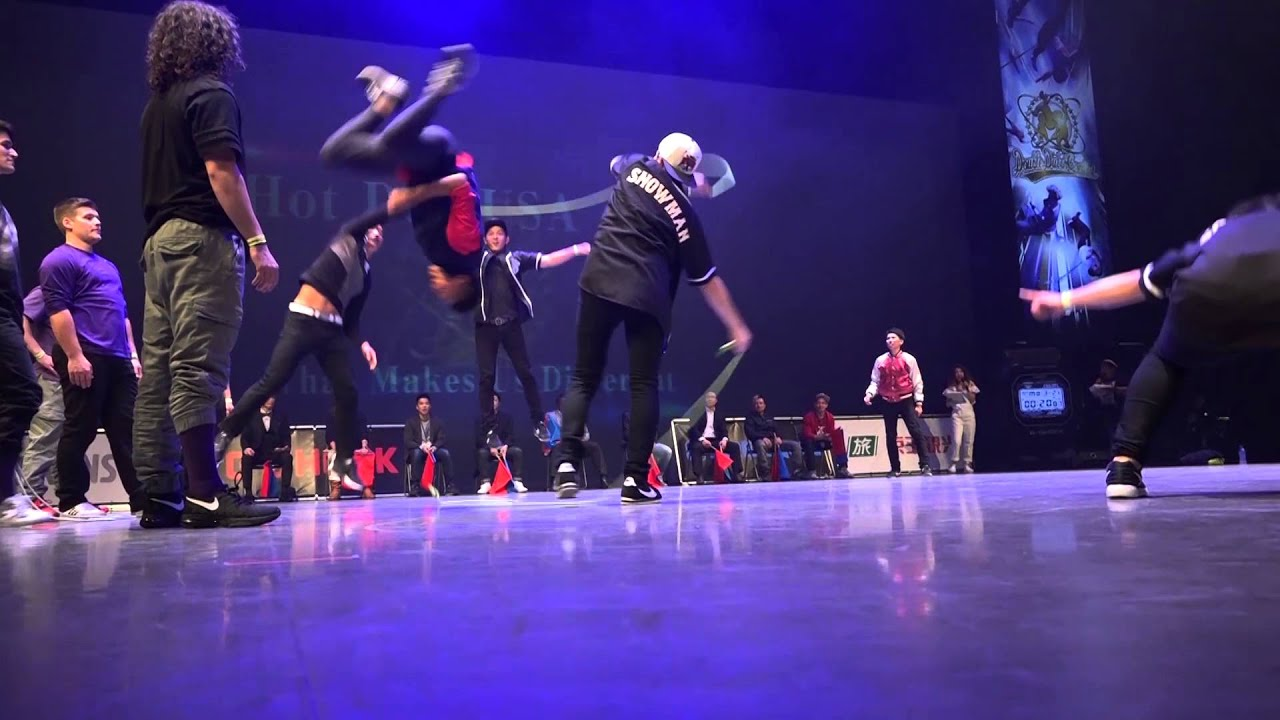 DDCW 2016 BATTLE SEMI FINAL 【Hot Dog USA VS What Makes Us Different】