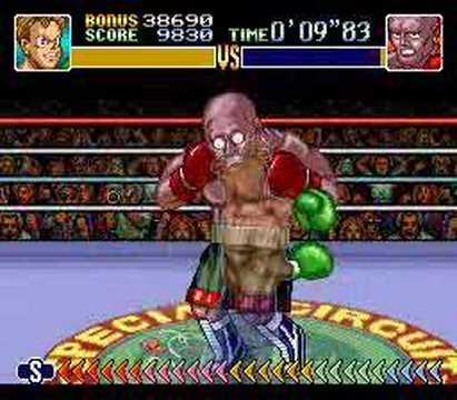 Super Punch-Out! Rick Bruiser KO in 0'10'50