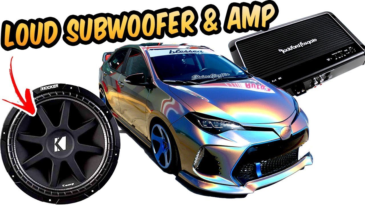 how to install subwoofer amp stock head unit part 1 corolla [ 1280 x 720 Pixel ]