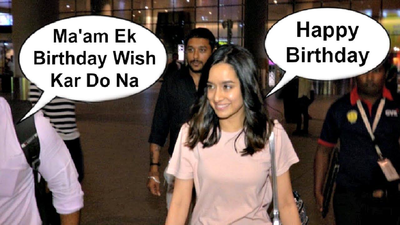 Shraddha Kapoor Sweet Gesture Towards A Fan