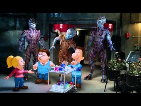 Tetley's Alien Invasion Advert 2014 - music by Jonathan Goldstein