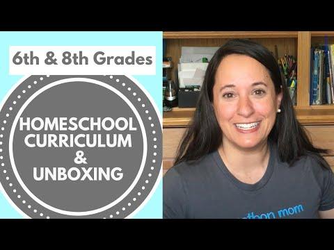 Homeschool Curriculum Unboxing