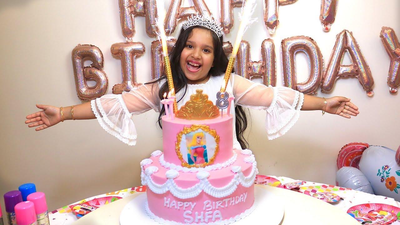حفلة عيد ميلاد شفا !!? ! happy birthday party