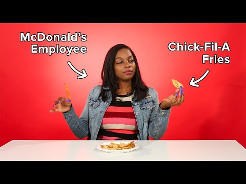 Fast Food Employees Review Each Other&39;s Fries