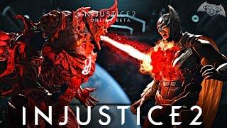 Injustice 2 Online Beta - Intense Match!