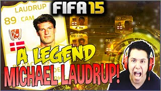 TIME COM A  LEGEND LAUDRUP! FIFA 15 Ultimate Team