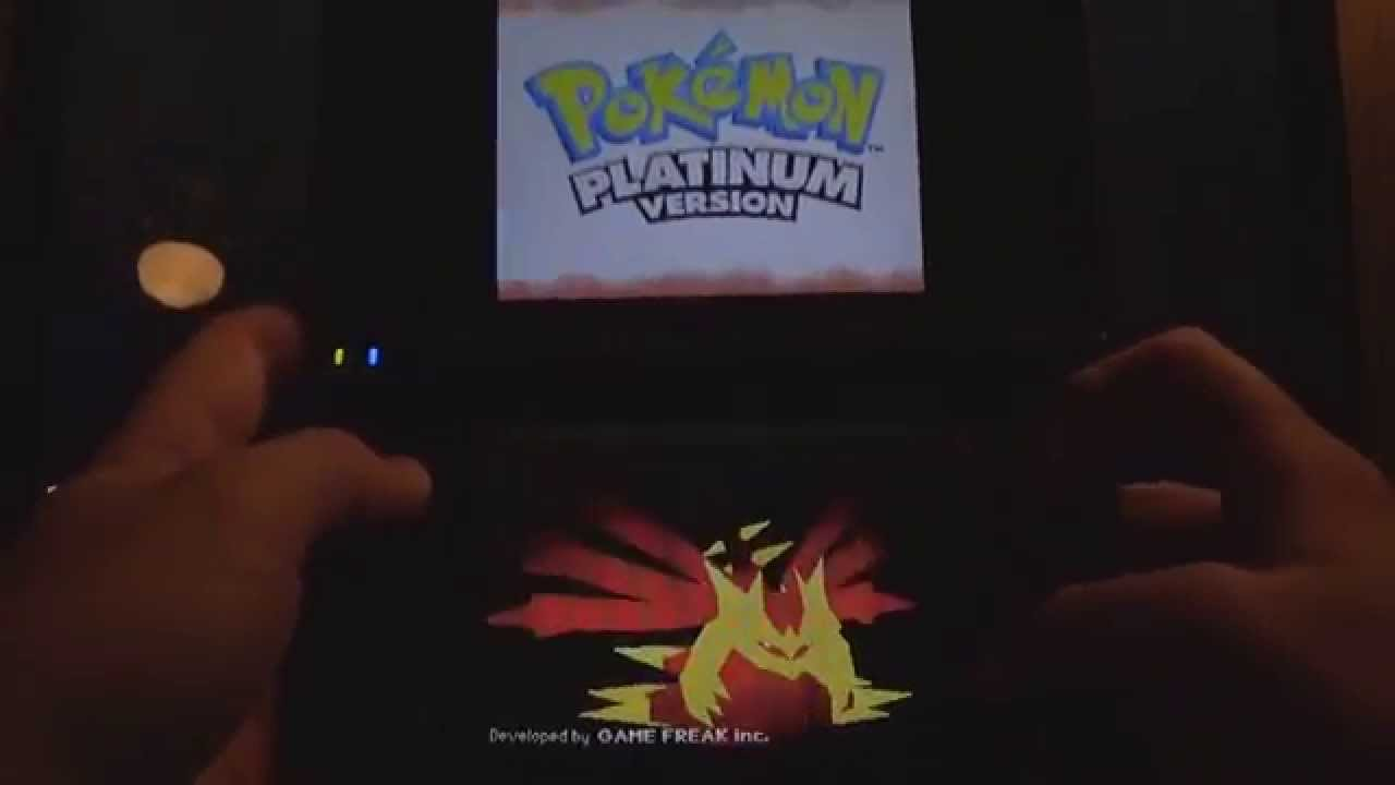 how to restart pokemon platinum