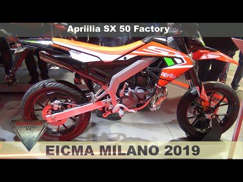 2020 Aprilia Sx 50 Factory Walkaround EICMA 2019 Fiera Milano Rho