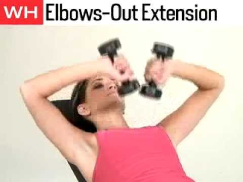 upper arm exercises for women upper body workout for