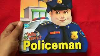 Who am I : Policeman Read Loud Read Along Children Book by Sawan