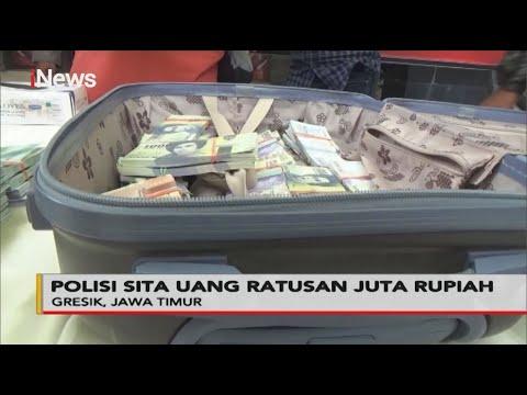 Kpk Palsu, Polisi Sita Uang Ratusan Juta Rupiah Di Gresik - Police Line 21/10