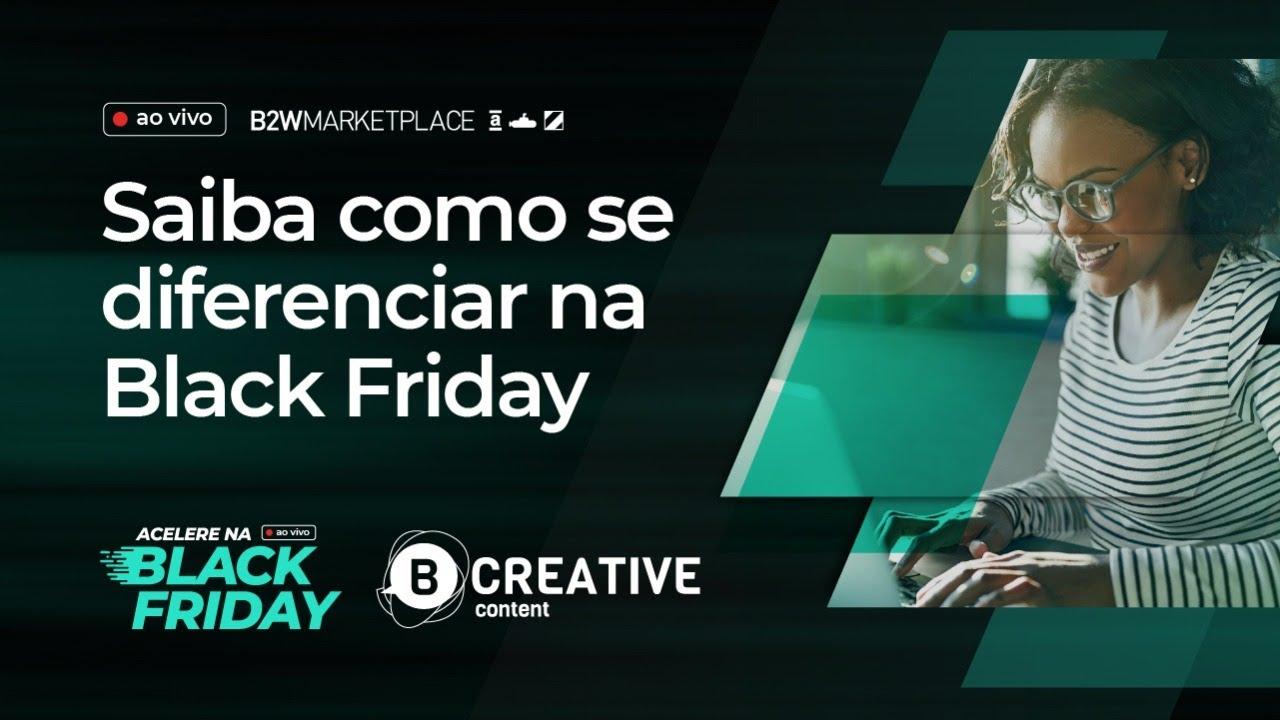 Acelere na Black Friday | Conteúdo para e-commerce: saiba como se diferenciar (17/09)