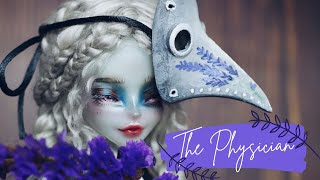 THE PHYSICIAN 🎃 Halloween doll repaint | Relaxing Creative process