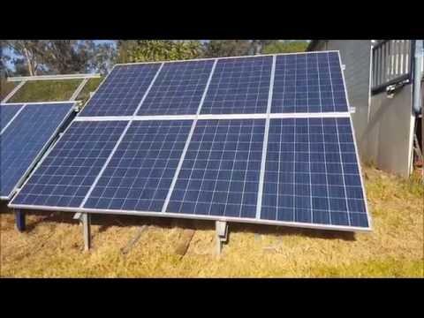 Off Grid Solar Power - Progress Report on the 2kW Solar Power System