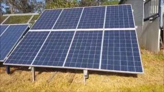 Off Grid Solar Power - Progress Report on the 2kW Solar Power System