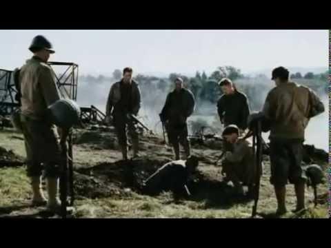 La mejor escena actuada, en rescatando al soldado Ryan
