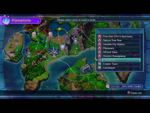 Megadimension Neptunia VII New game + Finale Arc  