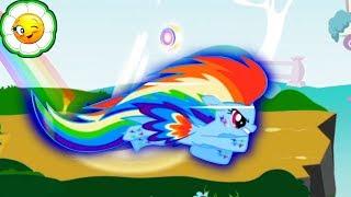 Радужные гонки Маленьких Пони #3   Мы не сможем продолжать игру без Rainbow Dash!
