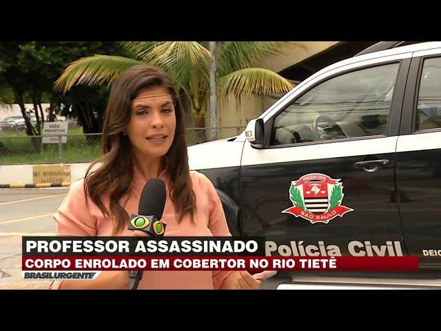 SP: Professor é assassinado e é encontrado no Rio Tietê